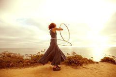 Sunset Hooper Royalty Free Stock Image