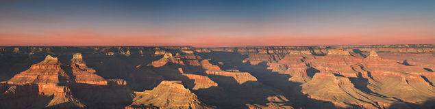 Sunset at Hopi Point, Grand Canyon Royalty Free Stock Photos