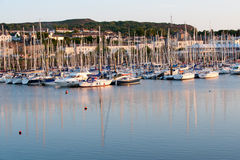 Sunset in Howth harbour Dublin, Ireland Royalty Free Stock Photos