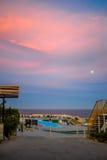 Sunset at Hurgada Royalty Free Stock Image