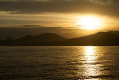 Sunset in Ibiza Royalty Free Stock Photography