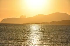 Sunset Ibiza Stock Photo