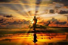 Free Sunset In Ao Nang Krabi Province Stock Photos - 213514503