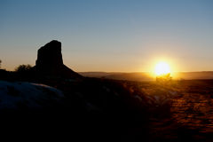 Free Sunset In Monument Valley Stock Photos - 8842303
