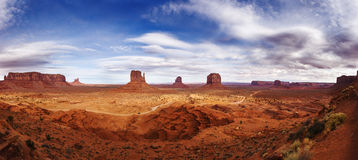 Free Sunset In Monument Valley Navajo Reservation Stock Photos - 66686343