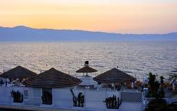 Free Sunset In Reggio Calabria Royalty Free Stock Image - 9607816