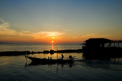 Free Sunset In Thailand Stock Images - 9999044