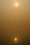 Sunset in India Royalty Free Stock Photography