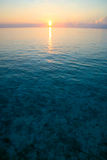 Sunset on the Indian Ocean Royalty Free Stock Photography