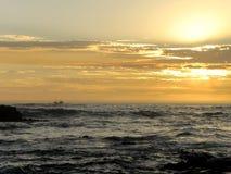 Sunset Indian ocean Royalty Free Stock Photos