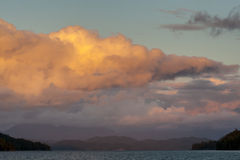 Sunset, Inside Passage Royalty Free Stock Images