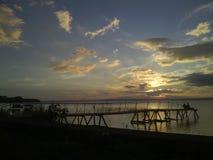Sunset at Isla Ometepe - Ometep Island - Nicaragua Royalty Free Stock Photo