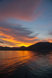 Sunset Island Royalty Free Stock Image