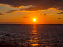 Sunset on the Island Royalty Free Stock Images