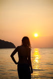 Sunset on the island of Langkawi Stock Images