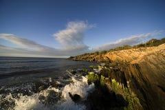 Sunset on island Margarita Royalty Free Stock Image
