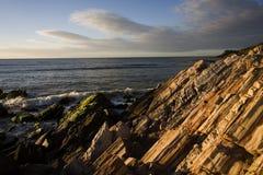 Sunset on island Margarita Stock Photography