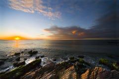 Sunset on island Margarita Royalty Free Stock Images