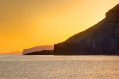 Sunset on the Isle of Skye Royalty Free Stock Photography