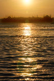 Sunset in İstanbul. Stock Image