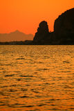 Sunset in Italy (Terracina, Lazio) Stock Image