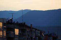 Sunset in Izmir - Turkey Stock Photo