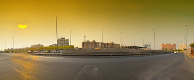 Sunset in Jeddah Stock Photography