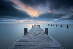Sunset Jetty. Stock Photography