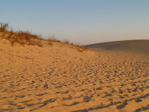 Sunset at Jockey's Ridge Stock Photography