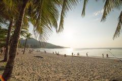 Sunset on Kamala Beach. Phuket, Thailand Stock Image