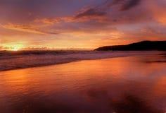 Sunset of Karon-3 Stock Photos