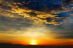 Sunset at Karon beach Royalty Free Stock Photography