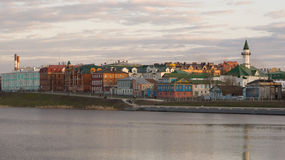 Sunset in Kazan Stock Photos