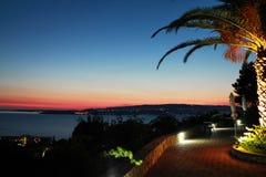 Sunset at kefalonia island Royalty Free Stock Image
