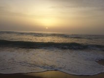 Sunset in kenitra. Nothing is more important than to be forgotten in front of a panoramic perception Stock Photos