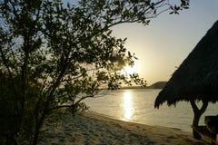 Sunset in Kenya Royalty Free Stock Photo