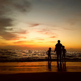 Sunset in Kerala Royalty Free Stock Photo