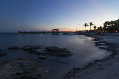 Sunset Key West Royalty Free Stock Photos