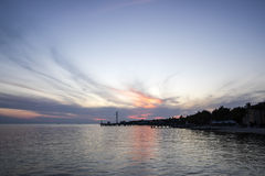 Sunset on Key West Florida #2 Royalty Free Stock Photo