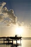 Sunset at Key West, Florida Royalty Free Stock Images