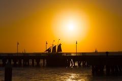 Sunset at Key West, Florida. Stock Image