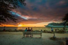 Sunset at Key West Stock Photo