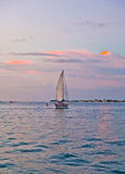 Sunset in Key West Stock Photography