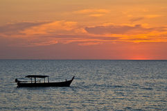 Sunset in Khao Lak Stock Images