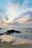 Sunset in Khao Lak Thailand Royalty Free Stock Photography