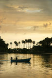 Sunset at Kho Chang -  Thailand Royalty Free Stock Photography