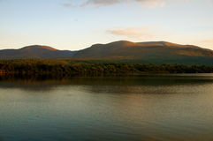 Sunset killarney. Sunset by the lake in killarney Royalty Free Stock Photos