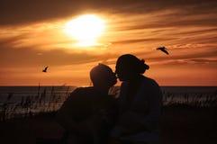 Free Sunset Kiss Stock Photos - 33561913
