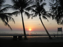 Sunset on Koh Chang. Stock Image