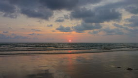 Sunset at Koh Chang, Trat. Thailand Royalty Free Stock Images